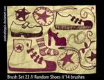Brush Set 22 - Random Shoes