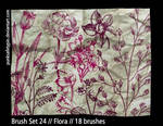 Brush Set 24 - Flora