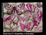 Brush Set 27 - Butterflies