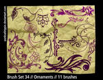 Brush Set 34 - Ornaments