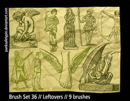 Brush Set 36 - Leftovers by punksafetypin