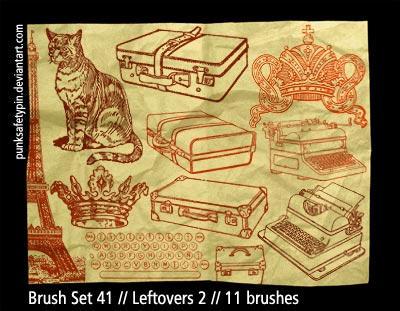 Brush Set 41 - Leftovers 2 by punksafetypin