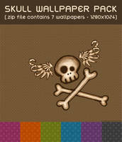 Skull Wallpaper Pack by punksafetypin