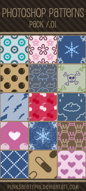 Photoshop Patterns - Pack 01