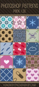 Photoshop Patterns - Pack 01