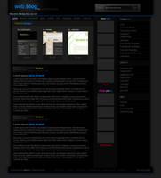 web.blog v.2 - free template by moDesignz