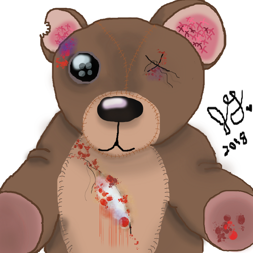 Blood Teddy by Cheeseburger911