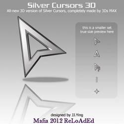Silver Cursors 3D