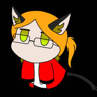 my avatar as a Cat gif