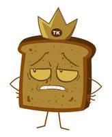 The Toast King Stencil by Custard-Cream