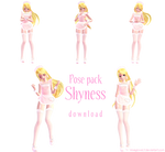 .:pose pack shyness (download):.