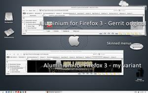 Aluminium firefox3 by gvsb