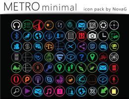 Metro Minimal Icon Pack by Nova-G
