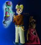 The Genie, the Sultan, and the Princess