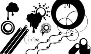 circlez - Gimp Brushes