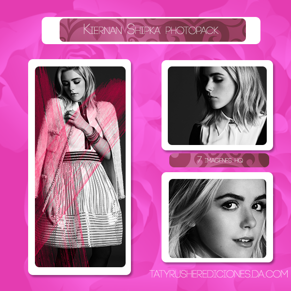 Kiernan Shipka Pack By Tatyrusherediciones On Deviantart
