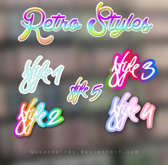 Retro Styles by Queendelrey