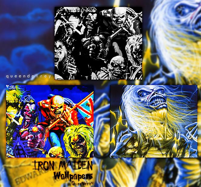 Wallpaper Iphone Iron Maiden: Wallpapers Pack By Queendelrey On DeviantArt