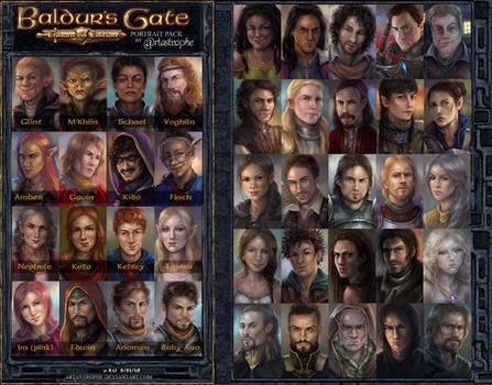 Portrait Pack - 3rd Edition