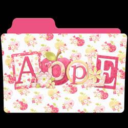 Apple Folder Icon by akamichan9
