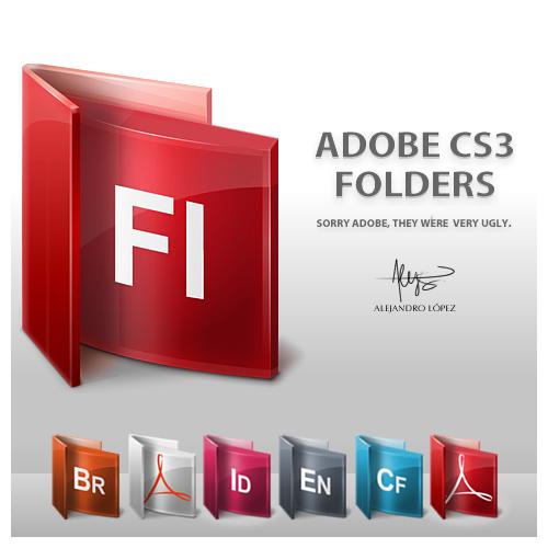 Adobe Folders by BlueMalboro