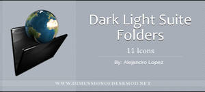 Dark Light Suite Folders by BlueMalboro
