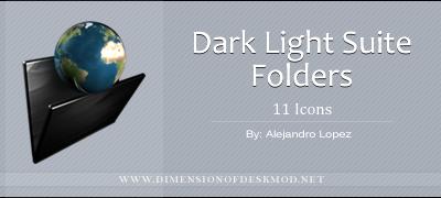 Dark Light Suite Folders by BlueMalboro