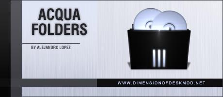 AQCUA Folders by BlueMalboro
