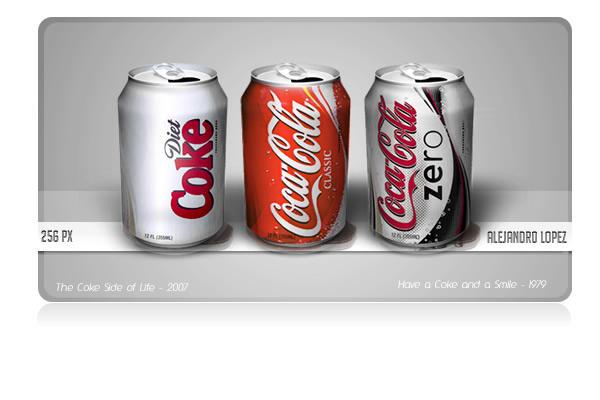 Coca-cola Family by BlueMalboro