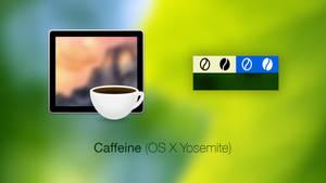Caffeine Icon + Menubar Icons (OS X Yosemite)