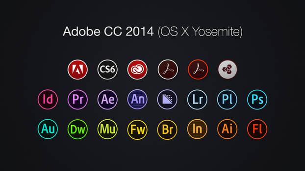 Adobe CC 2014 Icons (OS X Yosemite)