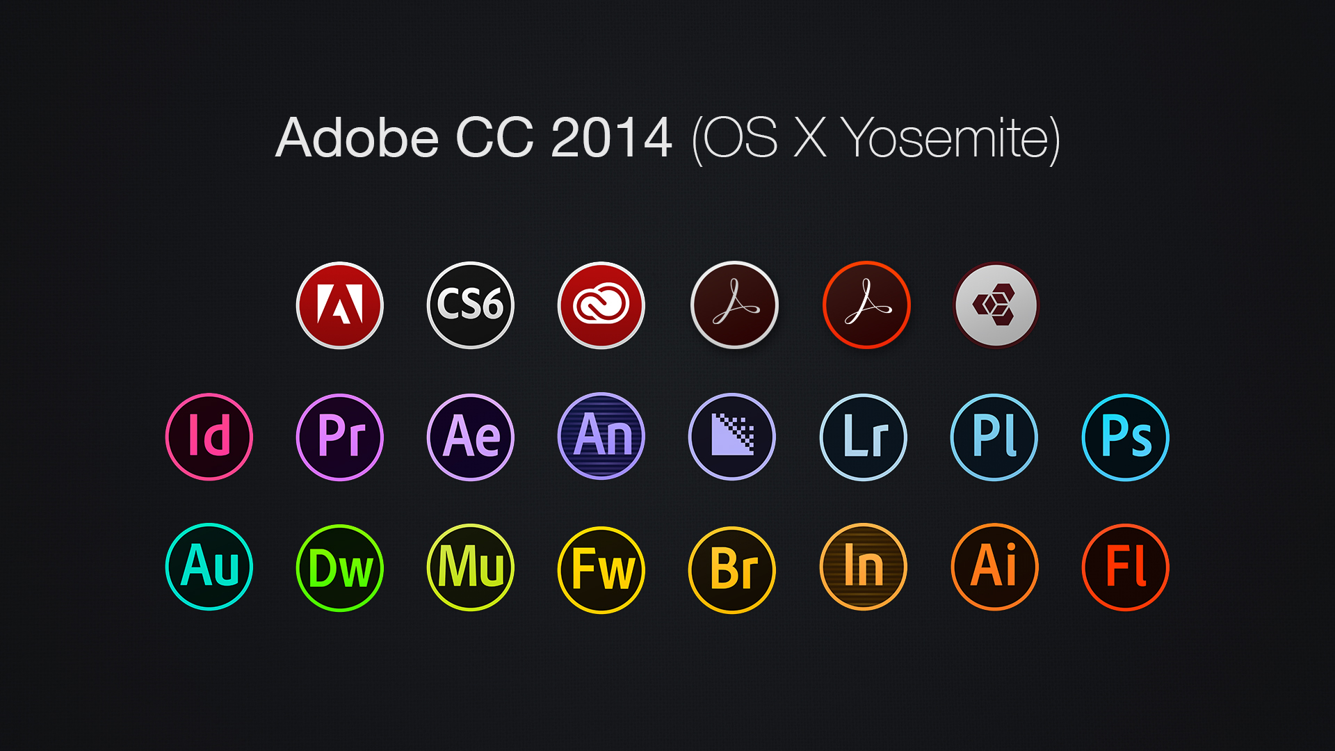 Adobe Indesign Icon Cs6 Adobe CC 2014 Icons (O...