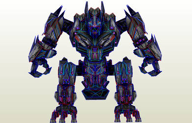 TF WOC Wii Trypticon PDO and Textures