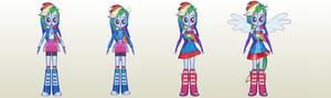 MLP Gameloft EG Rainbow Dash Pack