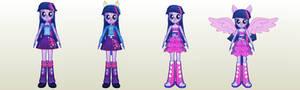 MLP Gameloft EG Twilight Sparkle Pack