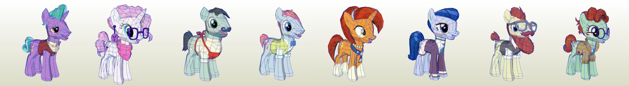 MLP Gameloft Sire Hollow by PapercraftKing