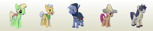 MLP Gameloft Apple Seeds by PapercraftKing
