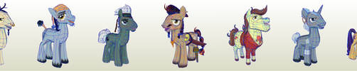 MLP Gameloft Pony Pirates by PapercraftKing