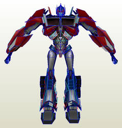 TFP Game Optimus Prime by PapercraftKing
