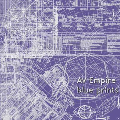 zbrushes, AV empire blue print by AV-2