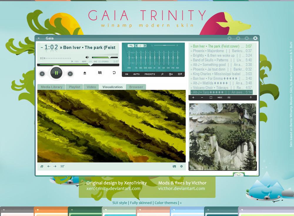 Gaia Trinity V2 by Victhor