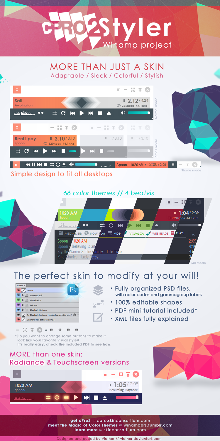cPro2 Styler - Skin project