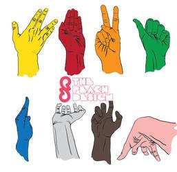Hand-drawn Hands Pack by peachananr