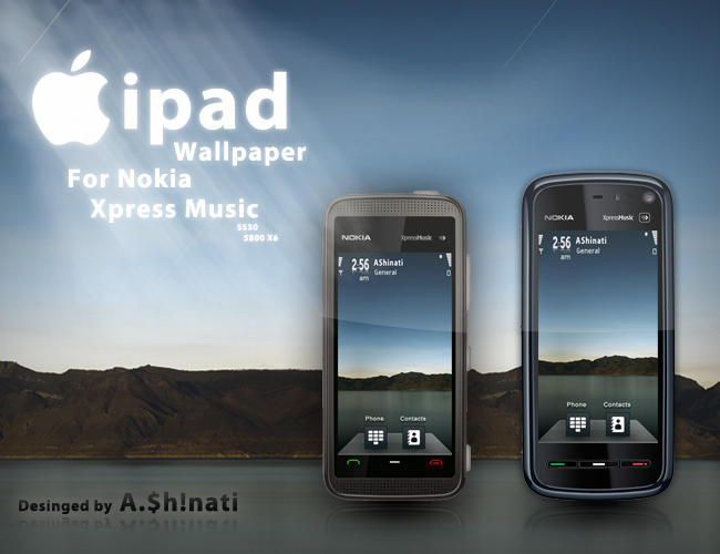 ipad Wallpaper for Nokia XM by AShinati on DeviantArt