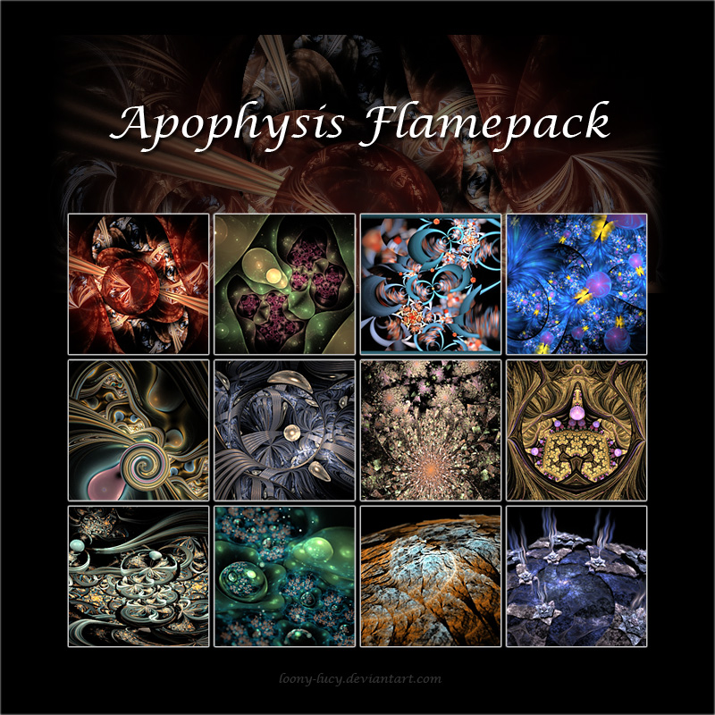 Apophysis Flamepack 2013 by Loony-Lucy