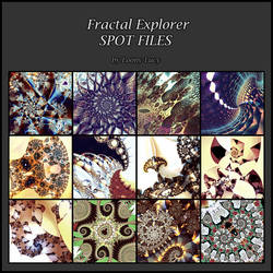 Fractal Explorer spot files by Lucy--C