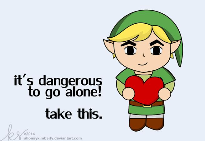 Legend Of Zelda Link Valentine S Day Card By Allonsykimberly On
