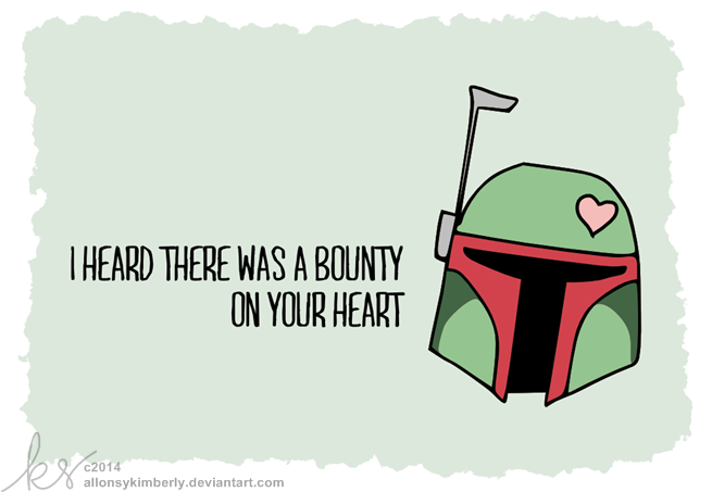 Elegant Bounty On Your Heart   Star Wars Valentine By Allonsykimberly ...