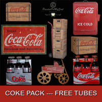 FREE TUBES COKE PACK by PaintedOnMySoul