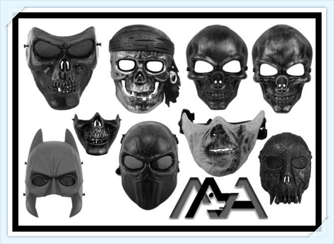 9 Terrible Skull Mask  Brushes